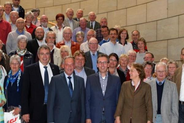 Besuch des Düsseldorfer Landtags am 24.06.2015