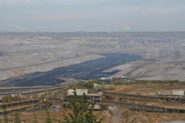 Bilder - Befahrung des Tagebaus Hambach am 14.11.2014