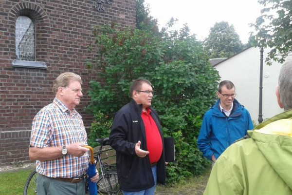 Ortsbegehung in Girbelsrath am 18.06.2016