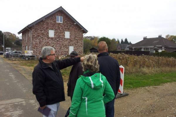 Ortsbegehung in Merzenich am 05.11.2016