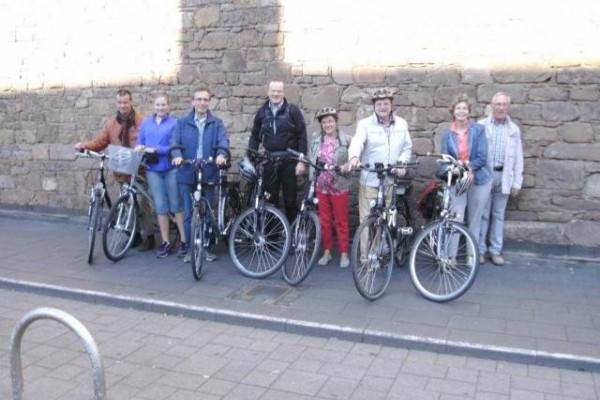 Pilgerfahrt mit einer Fahrradgruppe anlässlich der Annaoktav am 01.08.2015